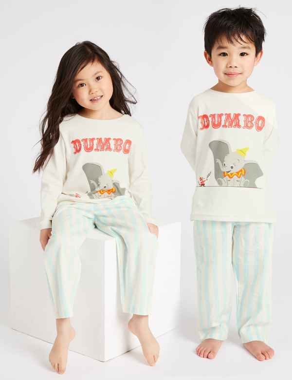 13b5c8d760 Disney Dumbo™ Pure Cotton Pyjamas (1-6 Years)
