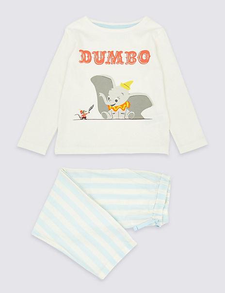 Disney Dumbo™ Pure Cotton Pyjamas (1-6 Years)