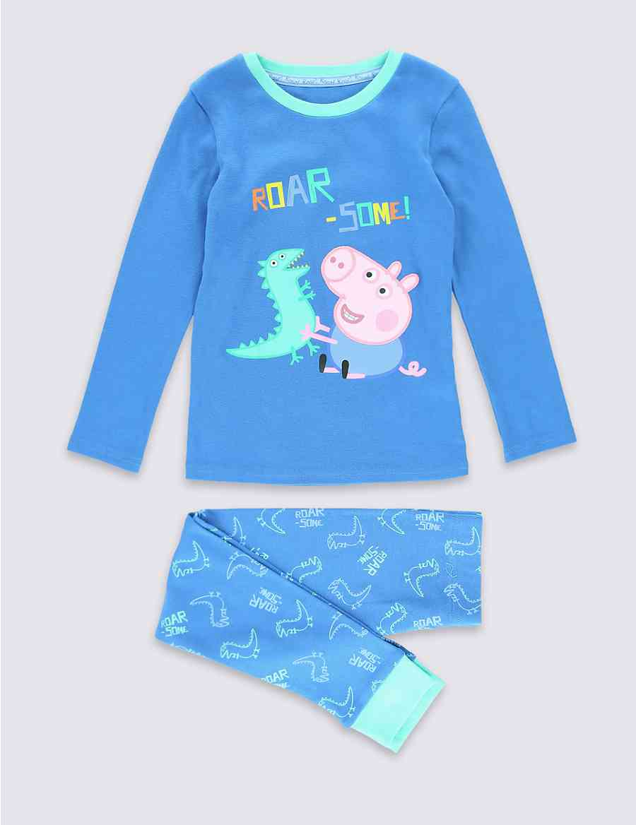 d7a9fd27099b Peppa Pig™ George Pig Pyjamas (1-8 years)