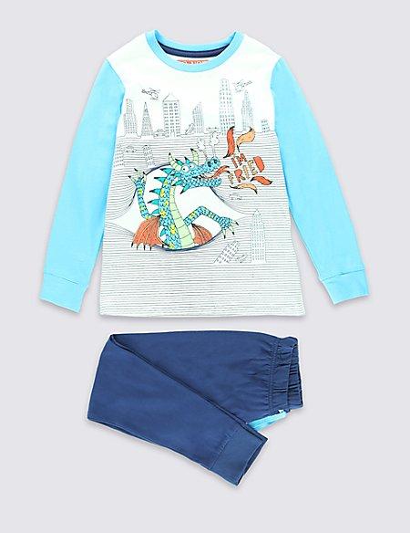 City Dragon Pyjamas (1-8 years)