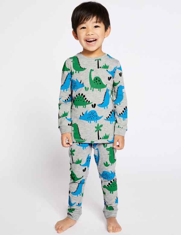 9575c1637c Cotton Rich Dinosaur Pyjamas (1-7 Years)