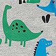 Katoenrijke pyjama met dinosaurusmotief (1-7 jaar), MULTI, swatch