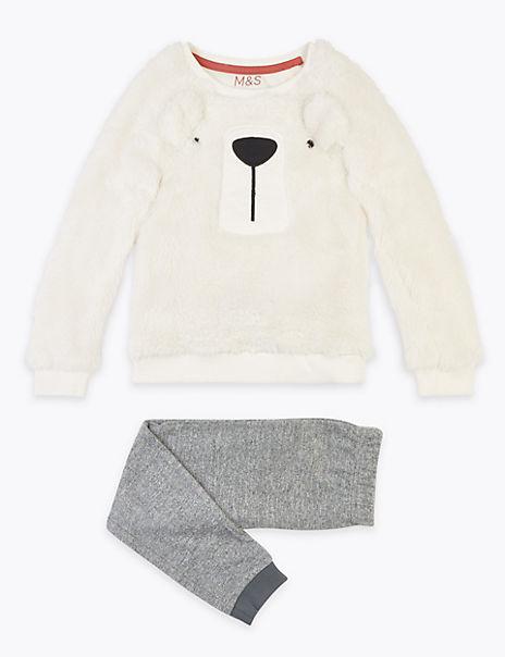 Polar Bear Pyjama Set (1-7 Years)