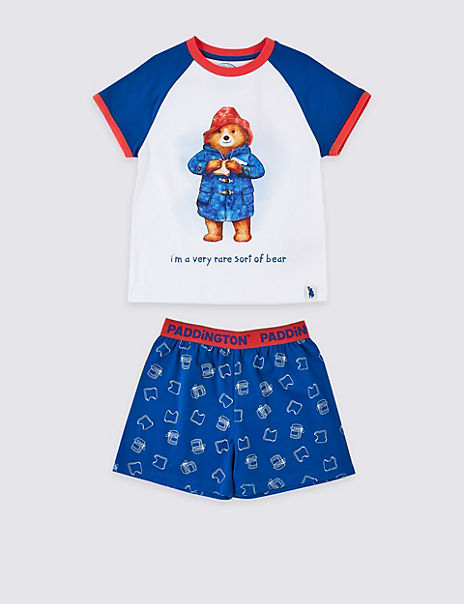Paddington™ Pure Cotton Short Pyjamas (1-7 Years)