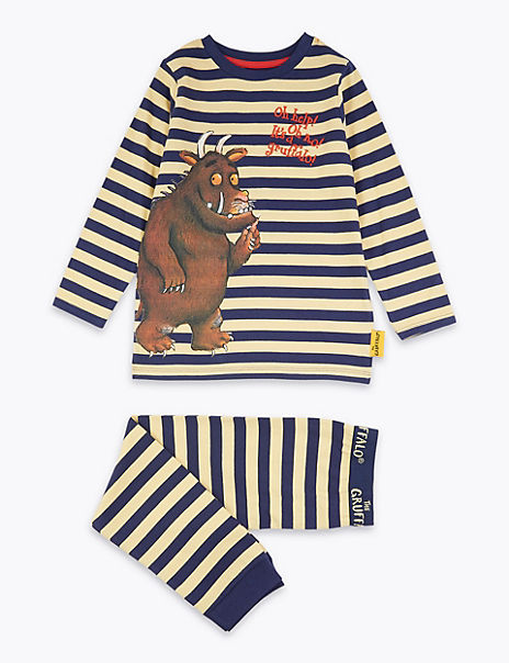 Cotton Gruffalo™ Striped Pyjama Set (1-8 Years)