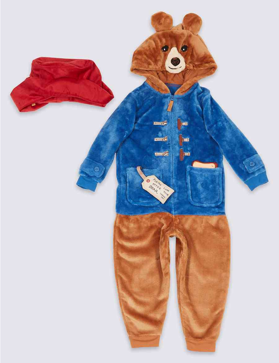 69464be26f Paddington™ Onesie with Hat (9 Months - 7 Years)