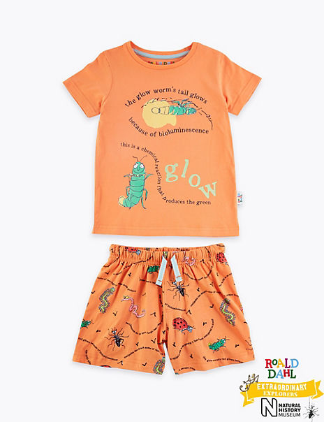Roald Dahl™ & NHM™ Glow Worm Pyjamas (1-7 Years)