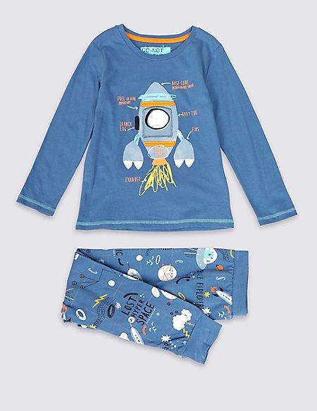 Space Rocket Pyjamas (1-8 Years)