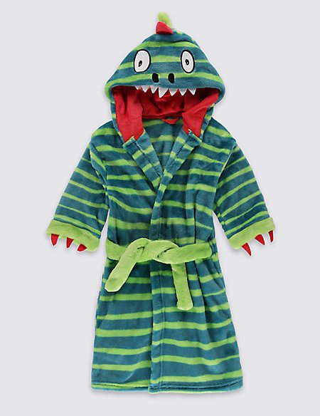 Dinosaur Dressing Gown (1-8 Years)