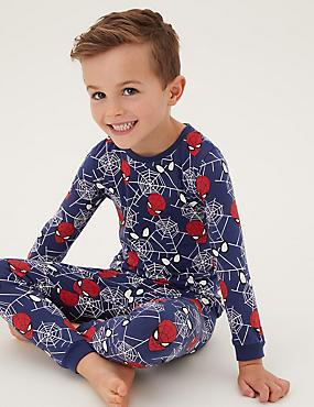 Spider-Man™ Cotton Pyjamas (2-8 Yrs)
