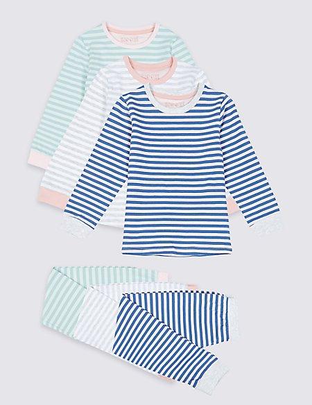 3 Pack Pyjamas (1-7 Years)