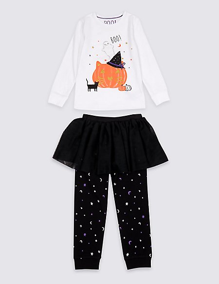 Pumpkin Tutu Pyjamas (1-7 Years)