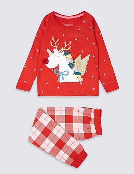 Pure Cotton Unicorn Pyjamas (1-7 Years)