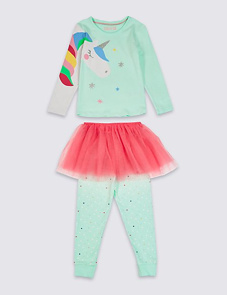 Unicorn Tutu Pyjamas (1-7 Years)