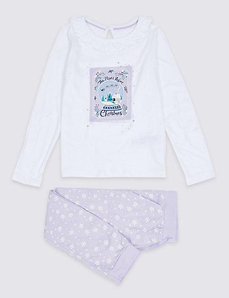 Pure Cotton Pyjamas (1-7 Years)