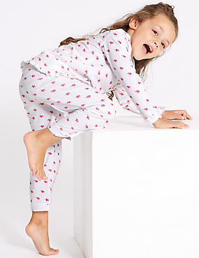 Pure Cotton Elephant Pyjamas (1-7 Years)