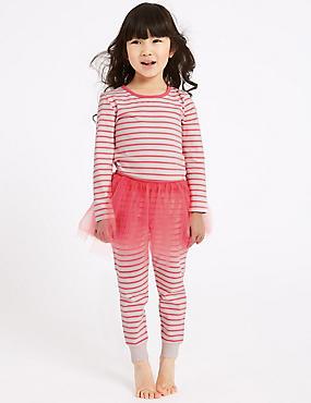 Striped Tutu Pyjamas (1-7 Years)