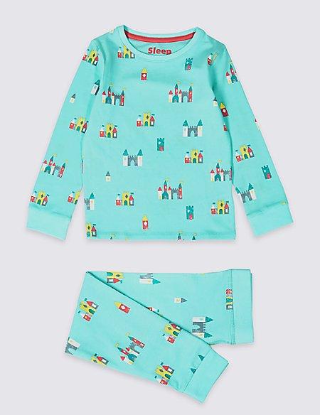 Cotton Pyjamas with Stretch (1-7 Years)