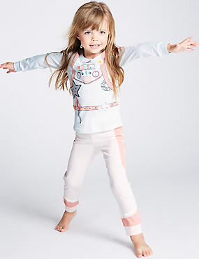 Pure Cotton Queen Pyjamas (1-7 Years)