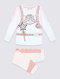 Pure Cotton Astronaut Pyjamas (1-7 Years)