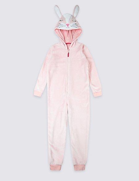 Hooded Bunny Onesie (1-8 Years)