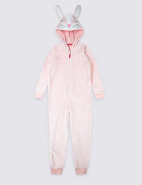 Hooded Bunny Onesie (1-8 Years)
