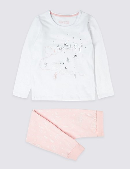 Cotton Pyjamas with Stretch (18 Months - 7 Years)