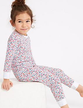 Ditsy Print Pyjamas with Stretch (1-7 years)