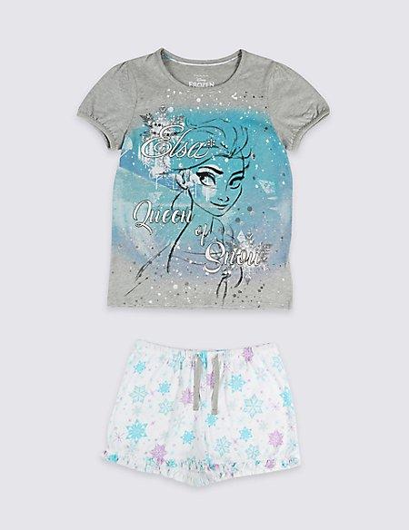 Disney Frozen™ Pure Cotton Short Pyjamas (2-10 Years)