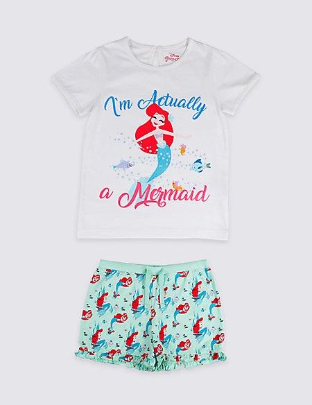 Disney Princess™ Pure Cotton Short Pyjamas (2-10 Years)
