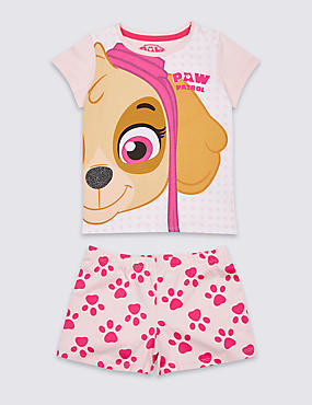 PAW Patrol™ Cotton Short Pyjamas (1-7 Years)