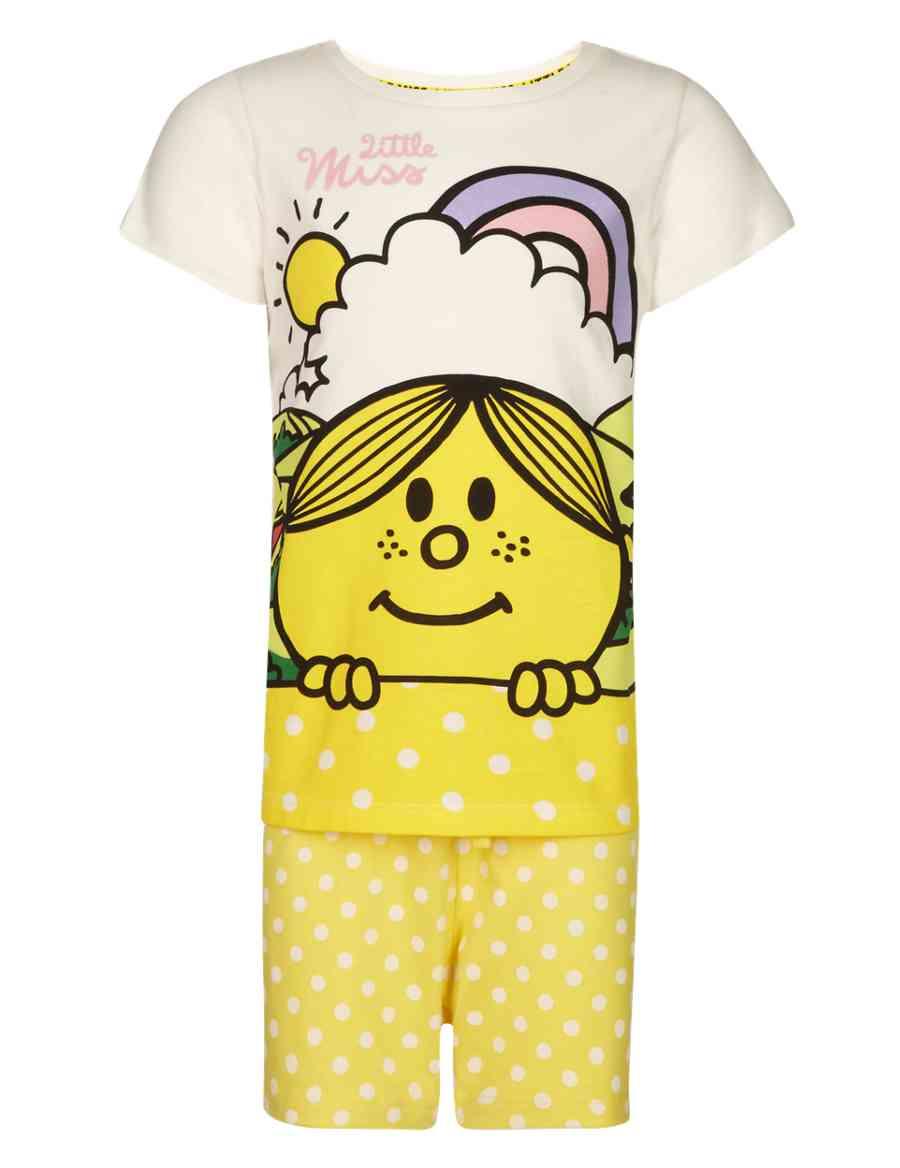 8b87dc8126d0 Pure Cotton Little Miss Sunshine™ Short Pyjamas