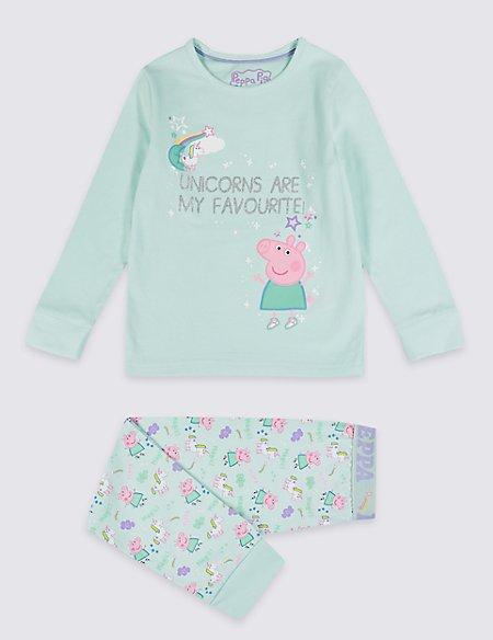 Peppa Pig™ Pyjamas with Stretch (1-7 Years)