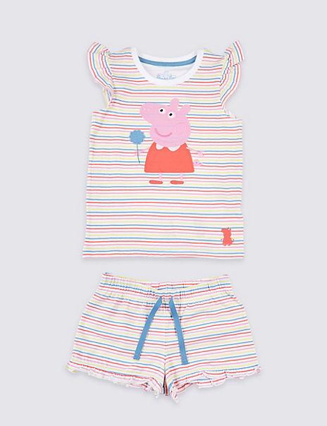 Peppa Pig™ Short Pyjamas (1-7 Years)
