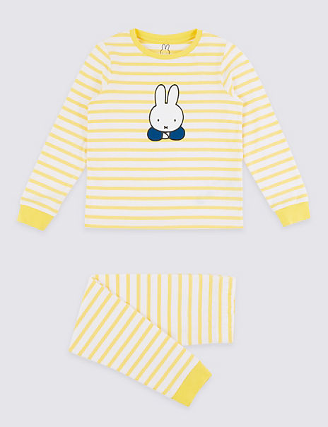 Striped Miffy Print Pyjama Set (1-7 Years)