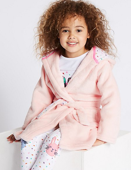 Bunny Dressing Gown with Belt (1-8 Years)