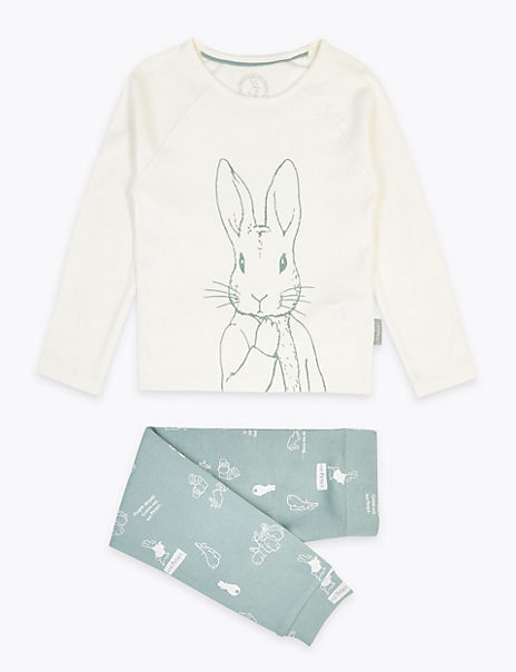 Peter Rabbit™ Print Pyjama Set (1-6 Years)