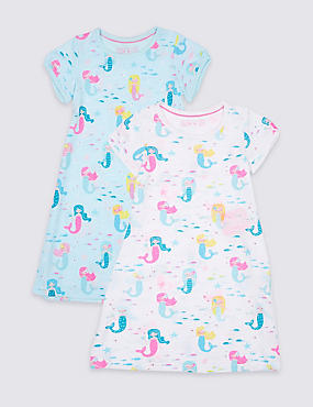 2 Pack Nightdress (1-7 Years)