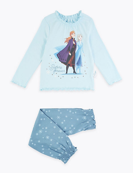 Disney Frozen™ 2 Sisters Forever Cotton Pyjama Set (2-10 Years)