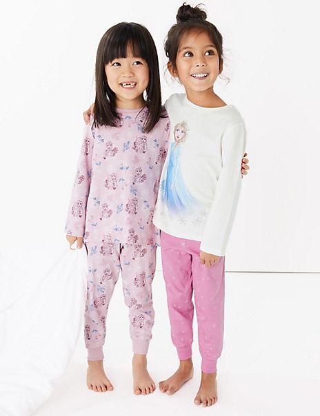 2 Pack Disney Frozen 2 Pyjama Set (2-10 Years)