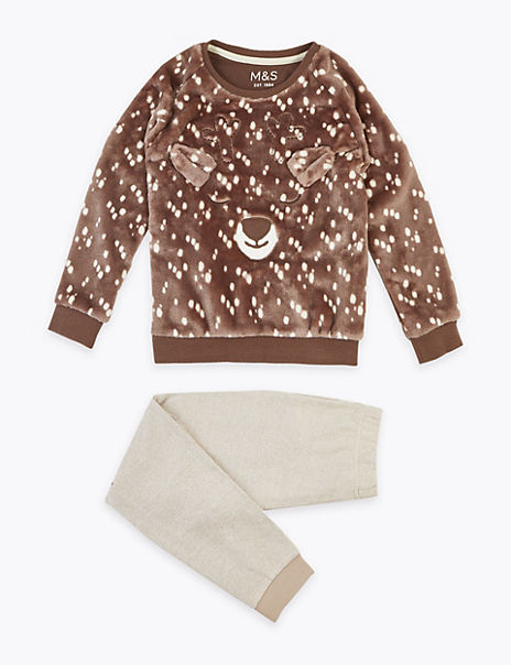 Deer Pyjama Set (1-7 Years)