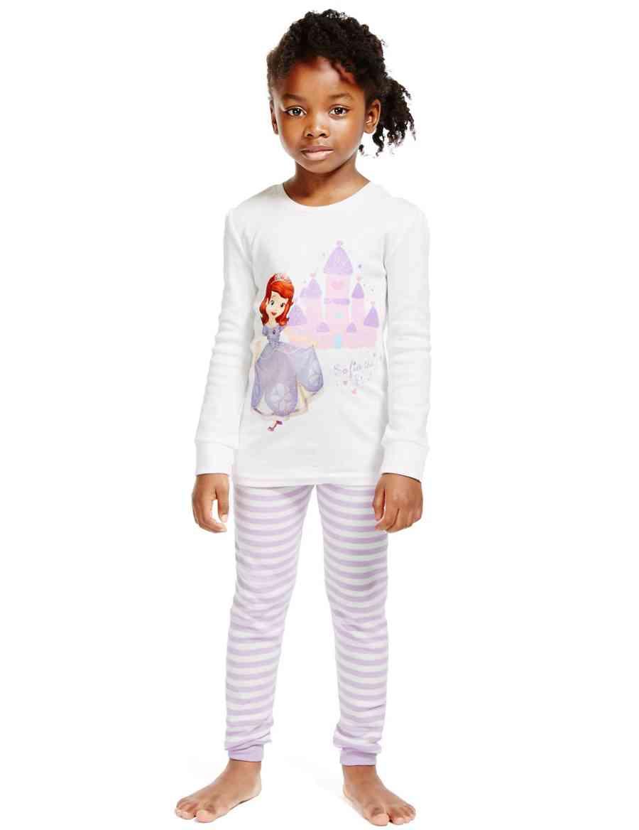 0c3cdb53ce Pure Cotton Disney Sofia the First Pyjamas (1-7 Years)
