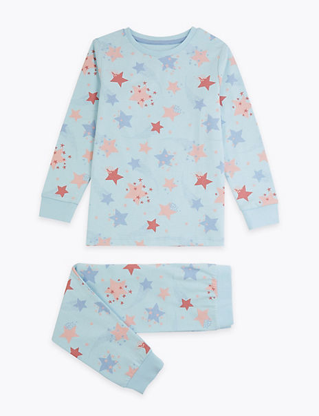 Star Relaxed Fit Pyjama Set (1-7 Years)
