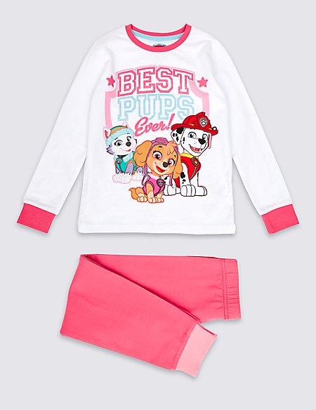 Cotton Rich Paw Patrol Pyjamas (1-6 Year)