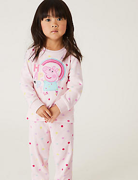 Peppa Pig™ Cotton Pyjamas (1-6 Yrs)