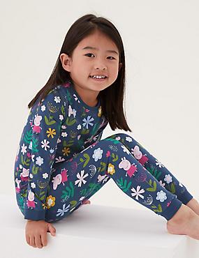 Cotton Peppa Pig™ Pyjamas (1-7 Yrs)