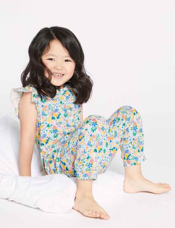665cc8e0cc2 Pure Cotton Romper Pyjamas (1-7 Years)