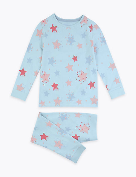 Star Skinny Fit Pyjama Set (1-7 Years)