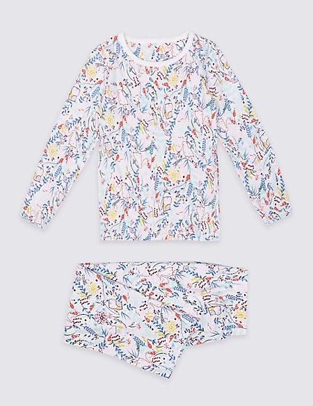 Cotton Printed Pyjamas (9 Months - 8 Years)