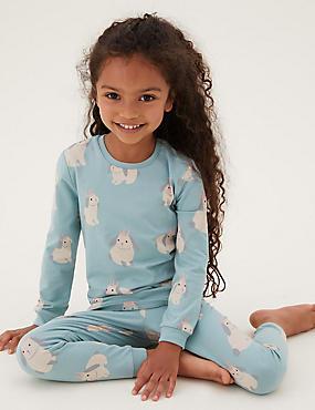 Cotton Bunny Pyjamas (1-7 Yrs)